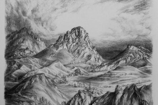 Солнцем овеяны горные склоны