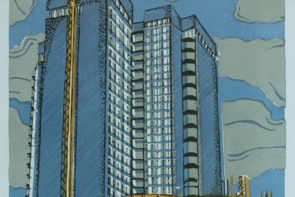 Строительство гостиницы «Молодёжная»