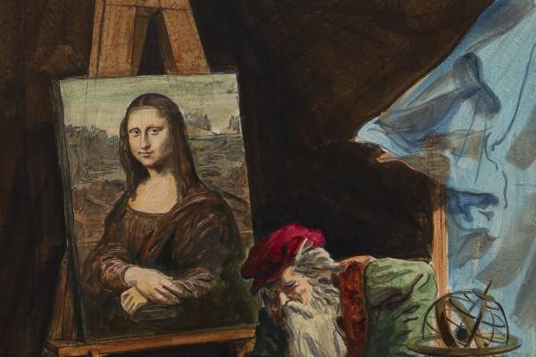 Леонардо да Винчи.<br/>Раздумья