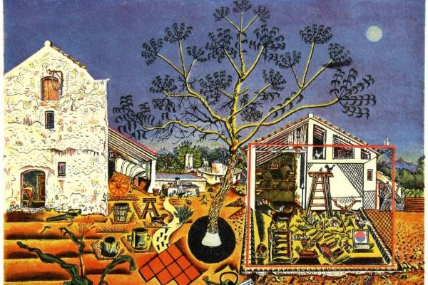 Хуан Миро «Фермерский двор»