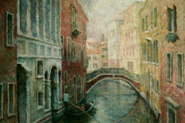 Венеция. Гондольер