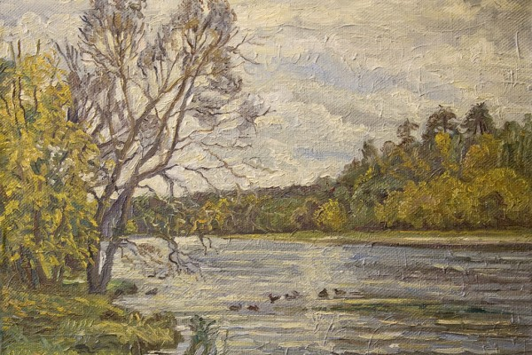 Осень в Серебряном бору