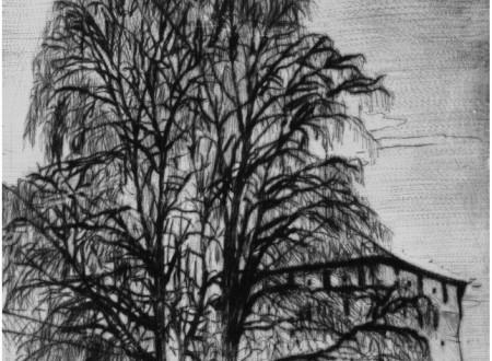 У стены монастыря