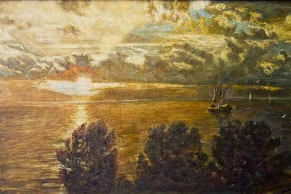 Закат в Эгейском море