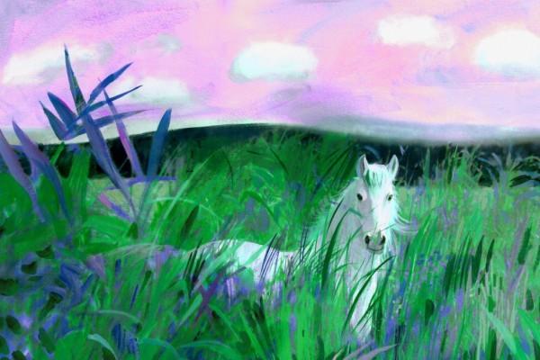 Лиловые травы