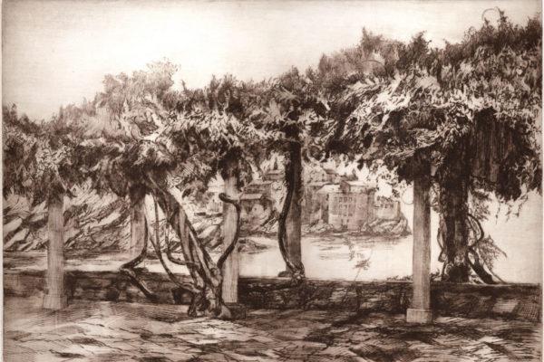 Святой Стефан. Вид с террасы
