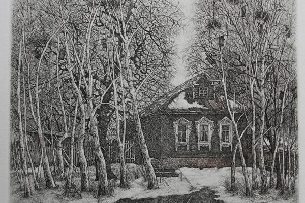 Дом моего детства и юности. Деревня Митино