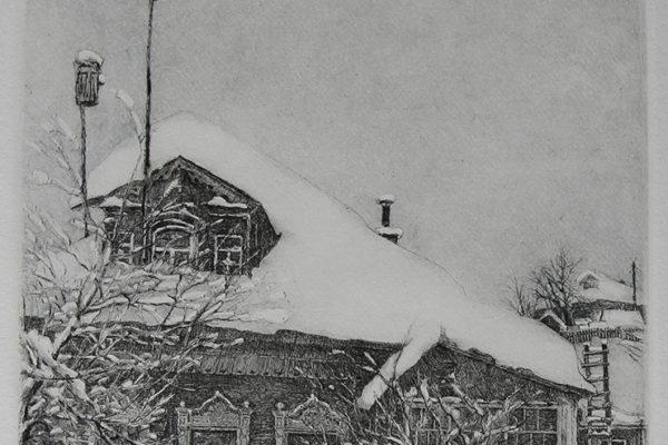 Дом моего друга. Деревня Куркино